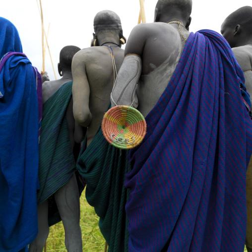 Donga Stick Fighting Ritual, Surma Tribe, Omo Valley, Ethiopia