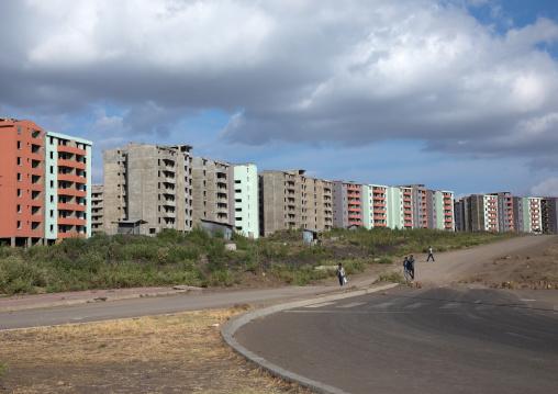 New apartments blocks, Addis Ababa Region, Addis Ababa, Ethiopia