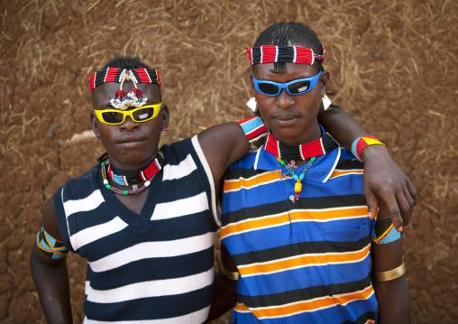 Bana Tribe Boys, Key Afer, Omo Valley, Ethiopia