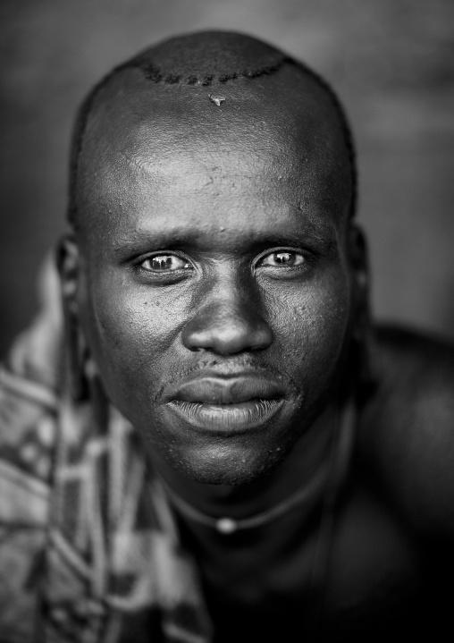 Suri tribe man, Kibish, Omo valley, Ethiopia