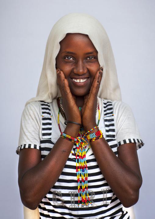 Karrayyu Teenager Girl, Metahara, Ethiopia