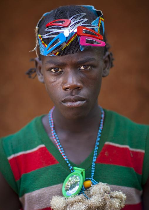 Bana Tribe Man, Key Afer, Omo Valley, Ethiopia
