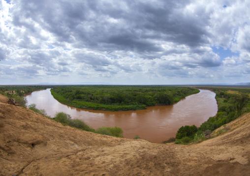 Omo River, Korcho, Omo Valley, Ethiopia