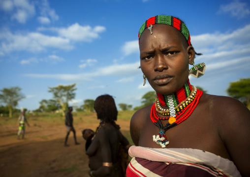 Bashada Tribe Woman, Dimeka, Omo Valley, Ethiopia