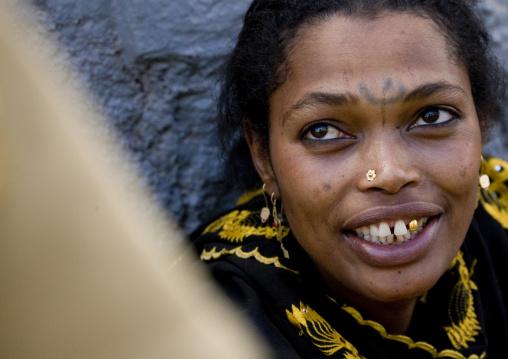 Woman With Tattoos, Harar, Ethiopia