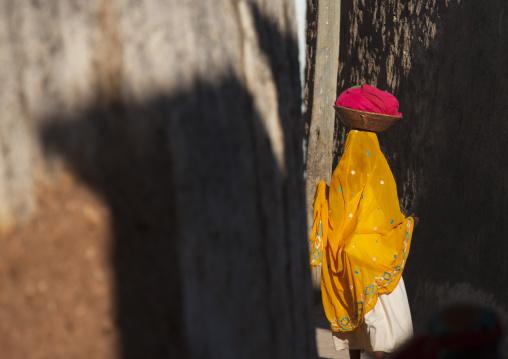 Woman Walking In The Street, Harar, Ethiopia