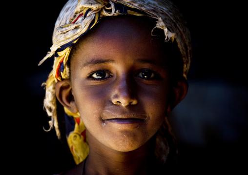 Youg Girl, Babile, Ethiopia