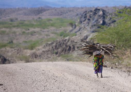 Old Woman Carrying Wood, Dire Dawa, Ethiopia