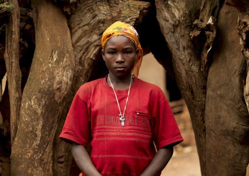 Portrait Of A Christian Konso Tribe Woman, Omo Valley, Ethiopia