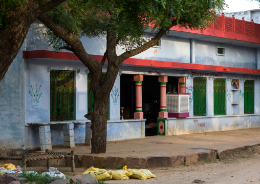 Old house in a rural area, Rajasthan, Baswa, India