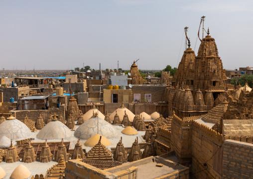 Jain temple, Rajasthan, Jaisalmer, India