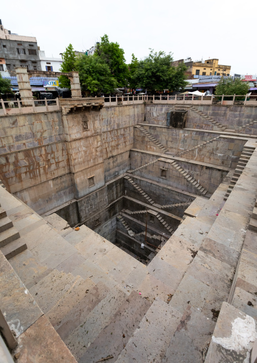 Nagar Sagar Kund stepwell, Rajasthan, Bundi, India