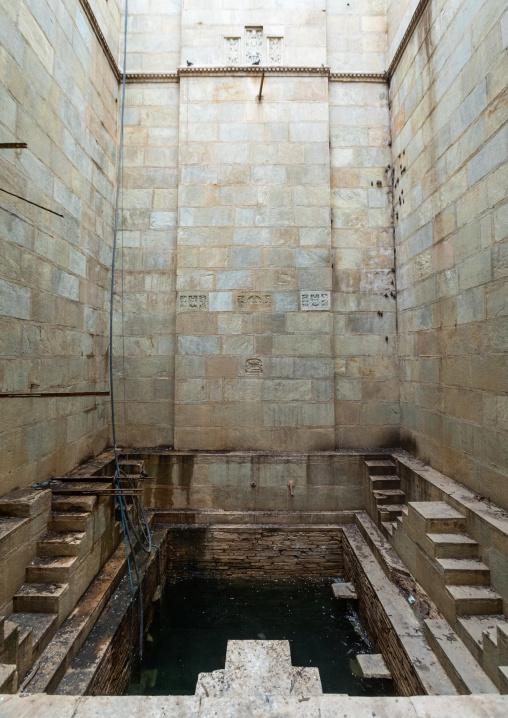 Entrance of Raniji ki baori called the queen's stepwell, Rajasthan, Bundi, India