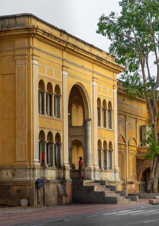 Yellow historic building, Rajasthan, Jaipur, India