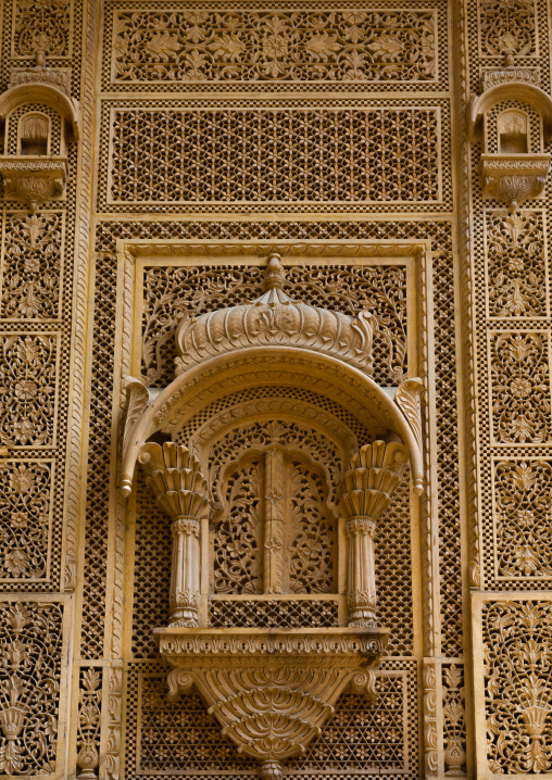 Old haveli, Rajasthan, Jaisalmer, India