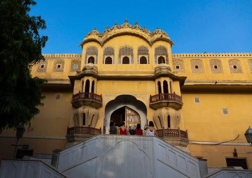 Back side of Hawa Mahal palace of wind, Rajasthan, Jaipur, India