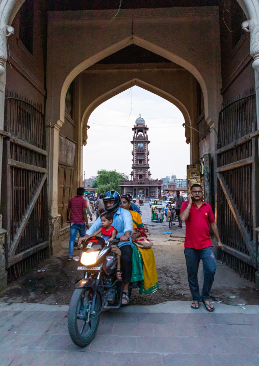 Entrance gate of the old city, Rajasthan, Jodhpur, India