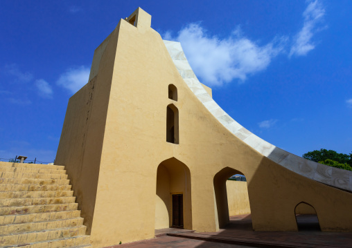 Jantar Mantar astronomical observation site, Rajasthan, Jaipur, India