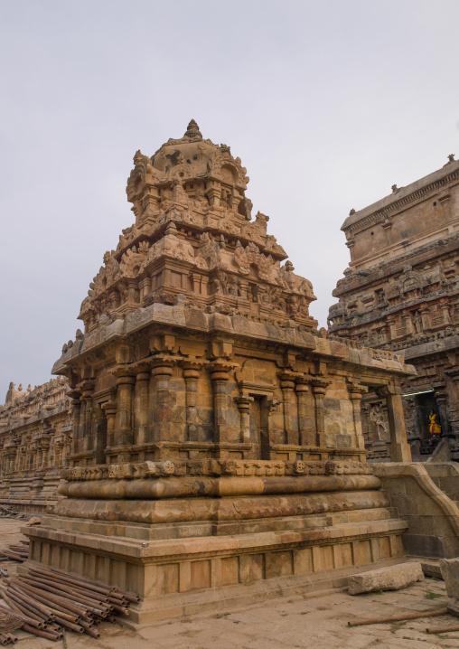Carved Tower At The Airavatesvara Temple, Darasuram, India