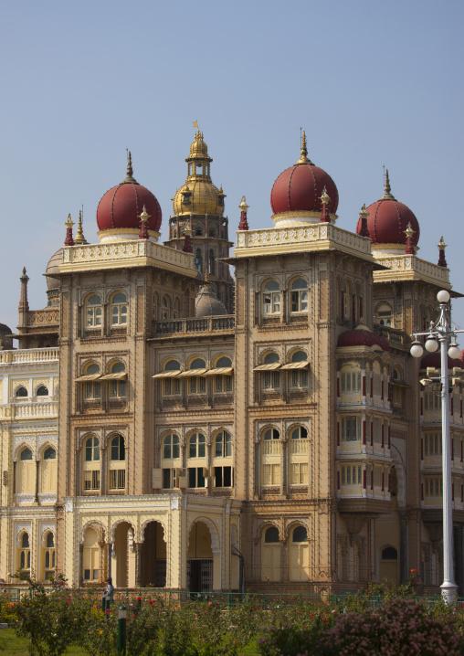 Mysore Maharaja's Palace By Day, Mysore, India