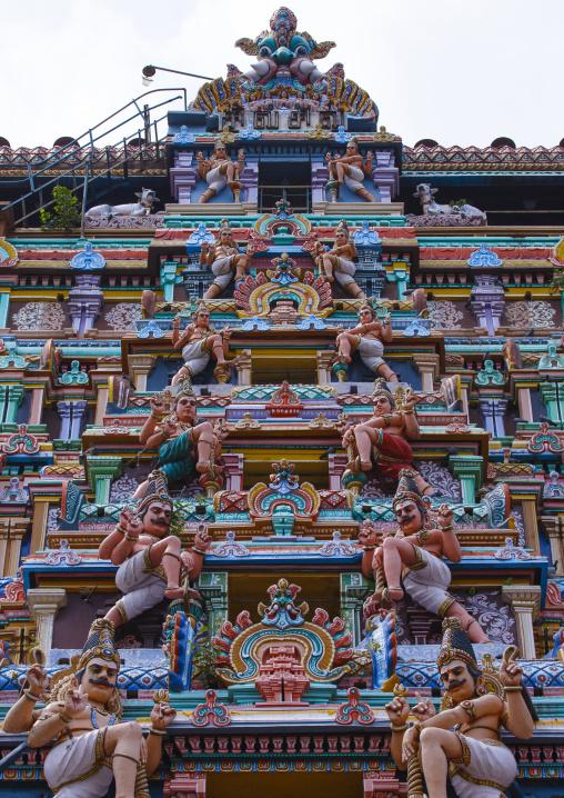 Decorated Gopuram Of Nataraja Temple, Chidambaram, India