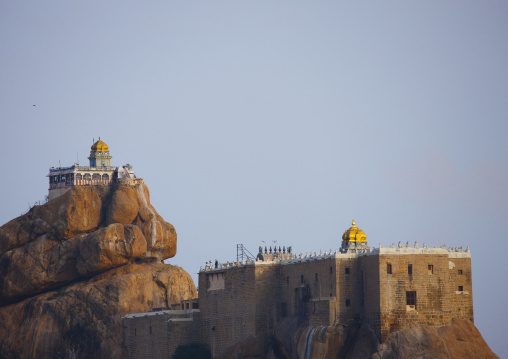 Located On The Upper Part Of The Town The Rock Fort Temple In Trichy, India