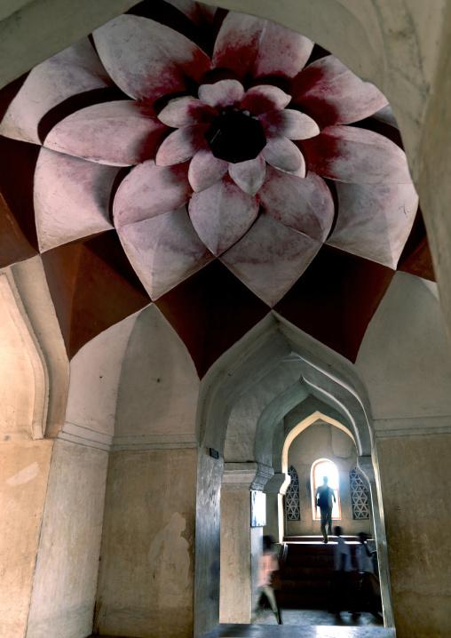 Motus Ceiling Inside Marata Palace, Thanjavur, India