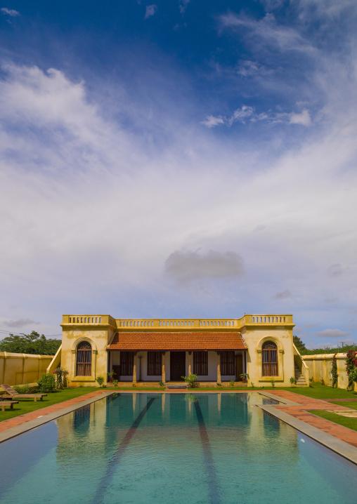 Swimming-pool At Visalam Hotel, Kanadukathan Chettinad, India