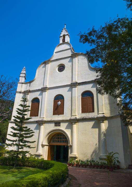 Exterior Front Of St Francis Church, Kochi, India