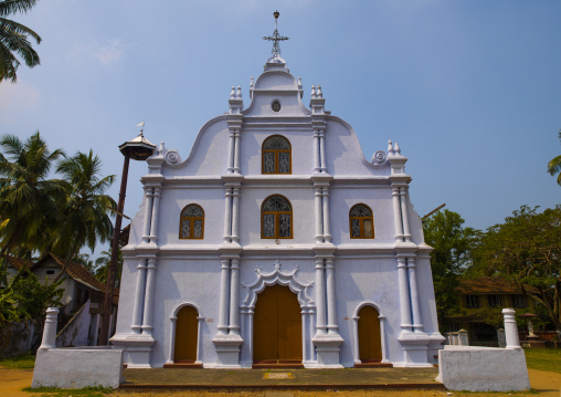 The Holy Cross Church In Kochi, India