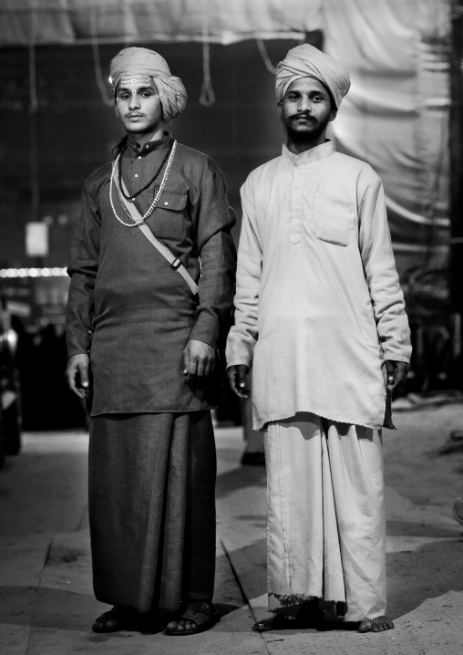 Future Sadhus, Maha Kumbh Mela, Allahabad, India