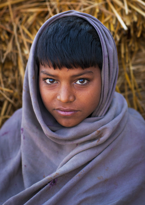 Kid In Maha Kumbh Mela, Allahabad, India