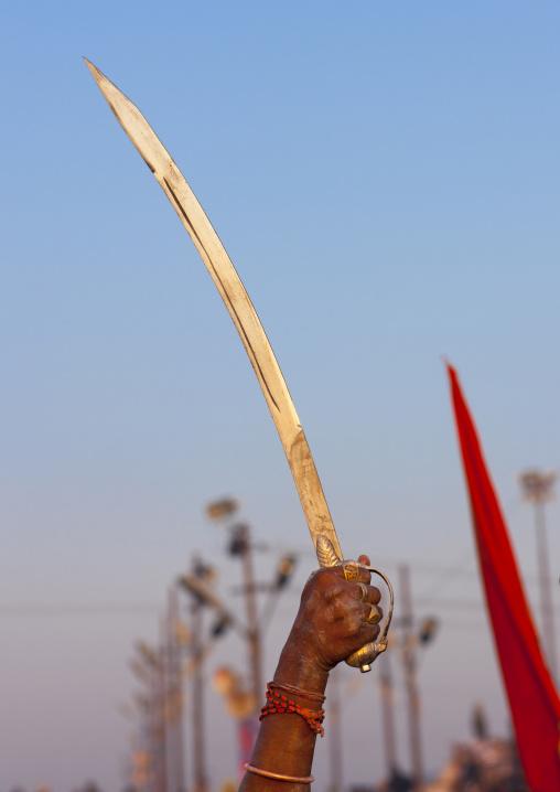 Sword At Maha Kumbh Mela, Allahabad, India