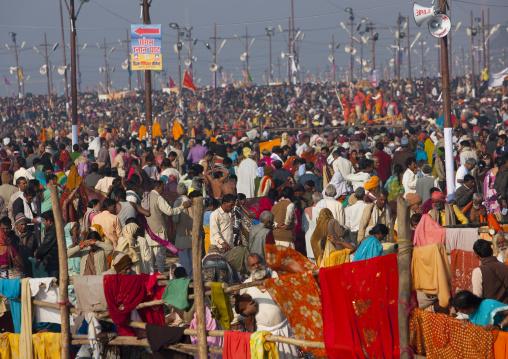 Crowd At Maha Kumbh Mela, Allahabad, India