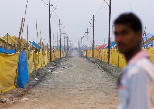 Pilgrims Camp, Maha Kumbh Mela, Allahabad, India