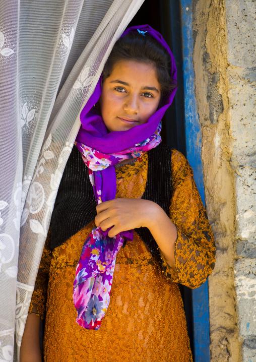 Young Kurdish Girl, Palangan, Iran