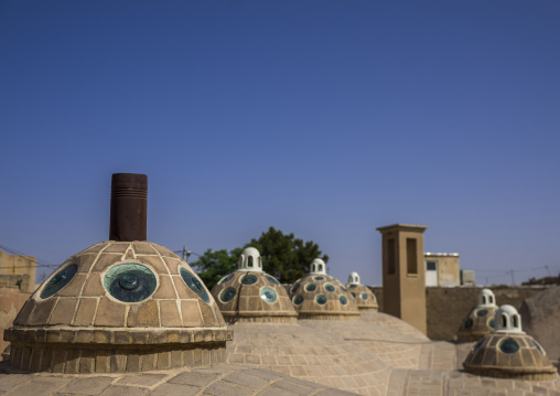 Sultan amir ahmad bathhouse roof and terrace, Isfahan province, Kashan, Iran