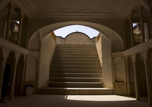 Tabatabaei historical house lower ground, Isfahan province, Kashan, Iran