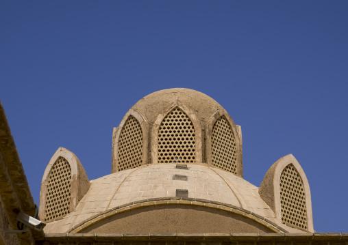 Abbasian historical house windtower, Isfahan province, Kashan, Iran