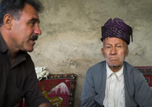 Men From The Old Kurdish Village Of Palangan, Iran