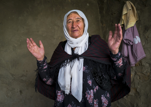 Old Woman From The Old Kurdish Village Of Palangan, Iran