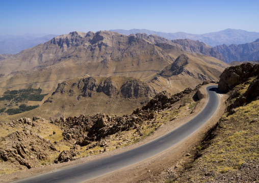 Mountain Road, Paveh, Iran