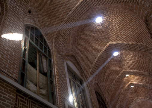 Rays Of Light Inside The Old Bazaar, Tabriz, Iran