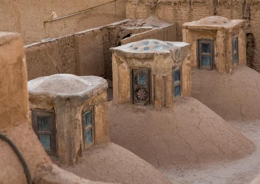 Historic Hammam Baths Roof, Yazd Province, Yazd, Iran