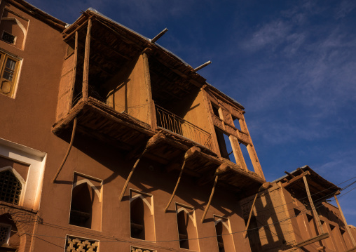 Ancient Building With Balcony In Zoroastrian Village, Isfahan Province, Abyaneh, Iran