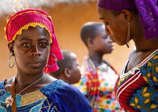 Portrait of a Dan tribe beautiful woman, Bafing, Gboni, Ivory Coast
