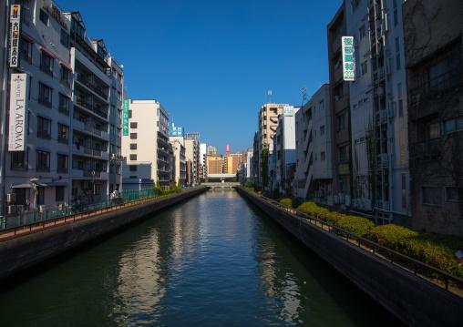Dotonbori canal, Kansai region, Osaka, Japan