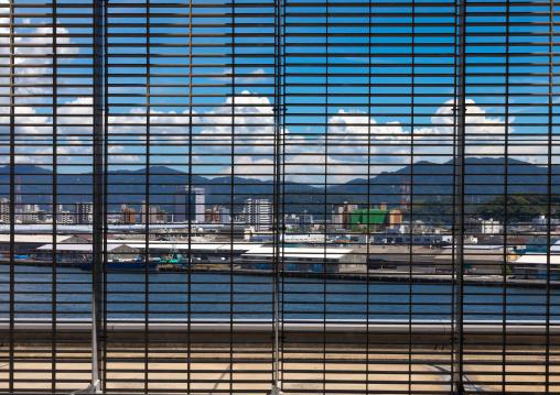 Naka waste incineration plant by architect Yoshio Taniguchi and associates, Chugoku region, Hiroshima, Japan