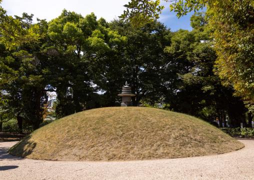 Korean memorial in Hiroshima peace memorial park, Chugoku region, Hiroshima, Japan
