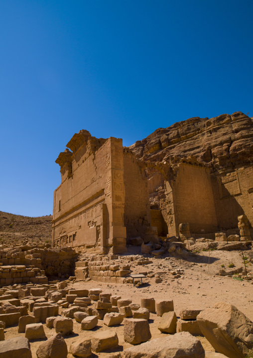Temple Of The Winged Lion, Petra, Jordan